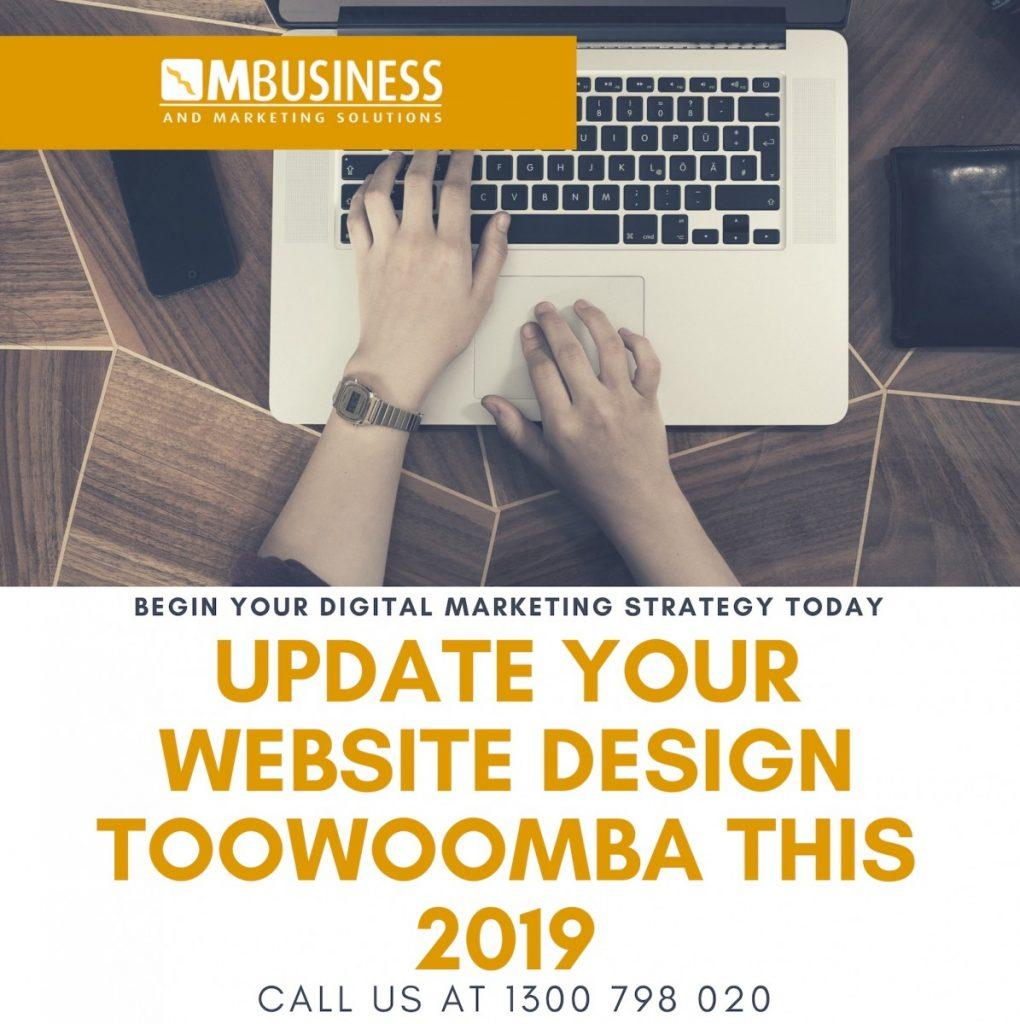 Webste Design Toowoomba for 2019