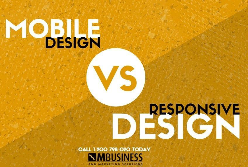 mobile vs responsive web design toowoomba