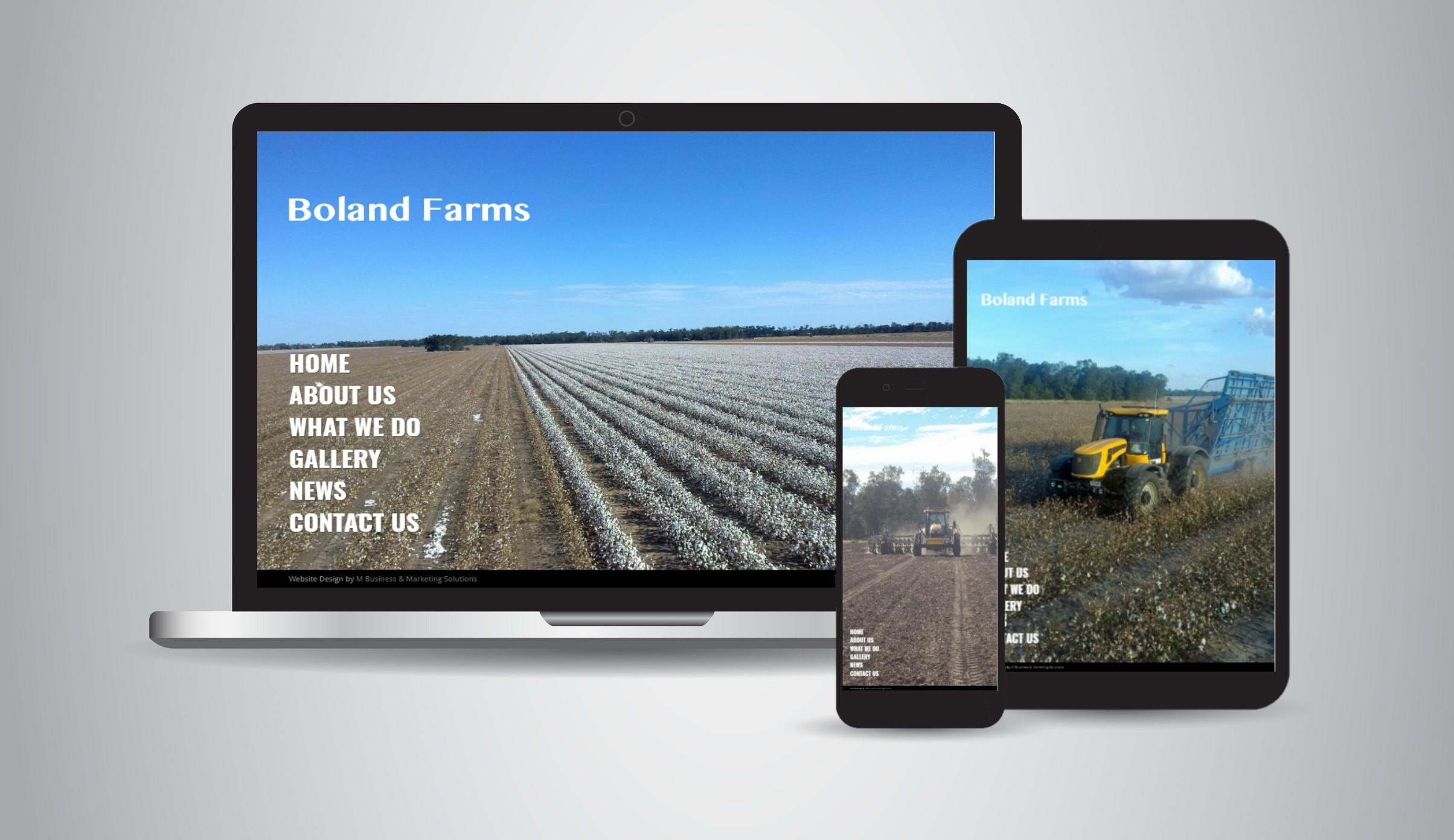 Boland Farms - Farming & Earthworks