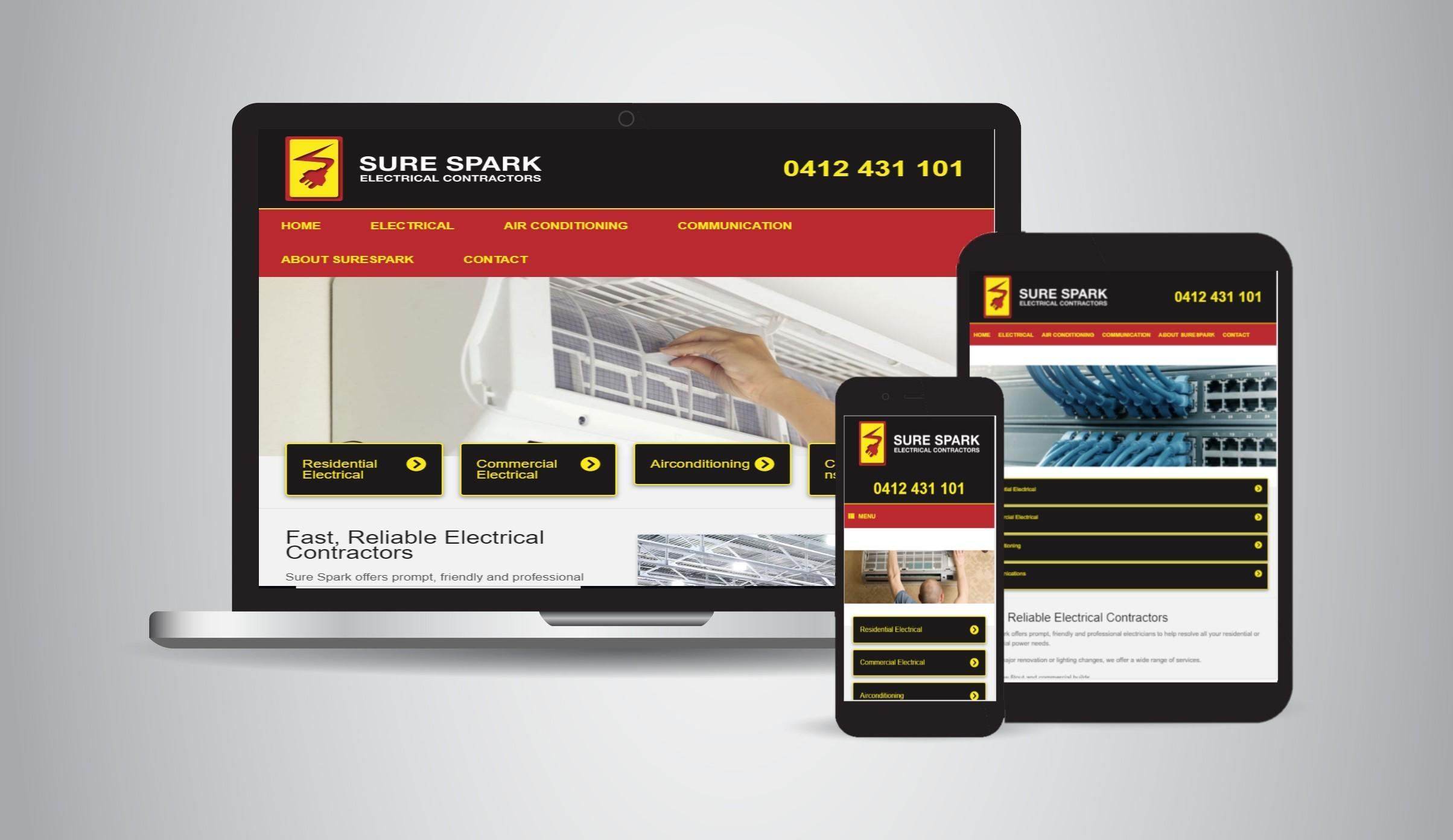 Sure Spark - Electricians, Airconditioning & Refrigeration