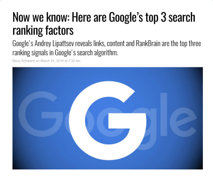 Google Top 3 Search Ranking - SEO Marketing