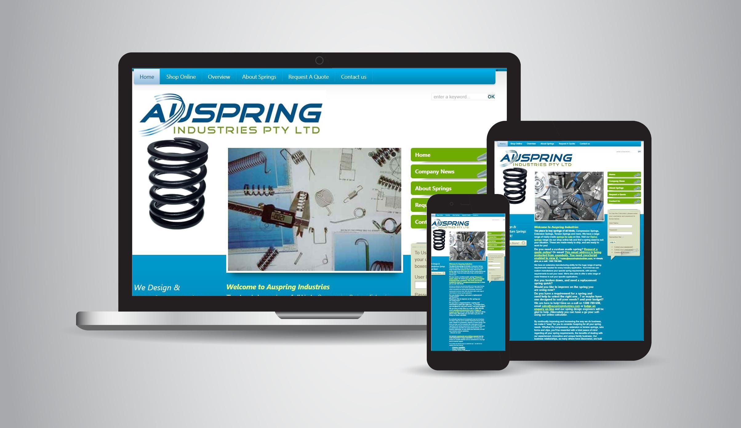 Auspring Industries - Engineering, Hydraulics, Hose Repairs & Suppliers