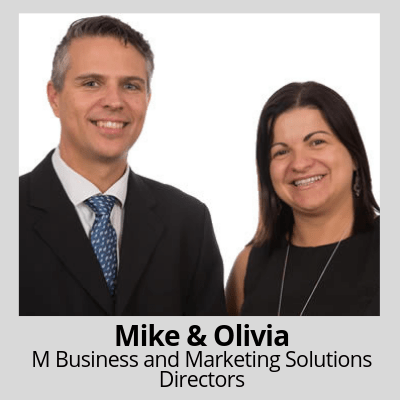 About Mike and Olivia of M Business and Marketing Solutions