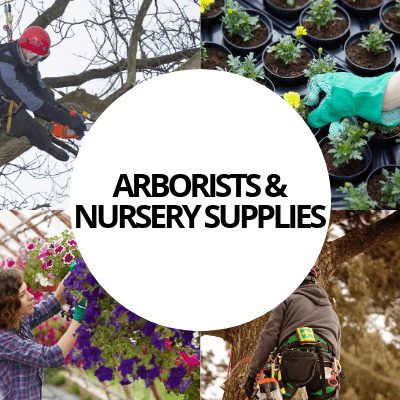 arborists nursery supplies industry web design portfolio