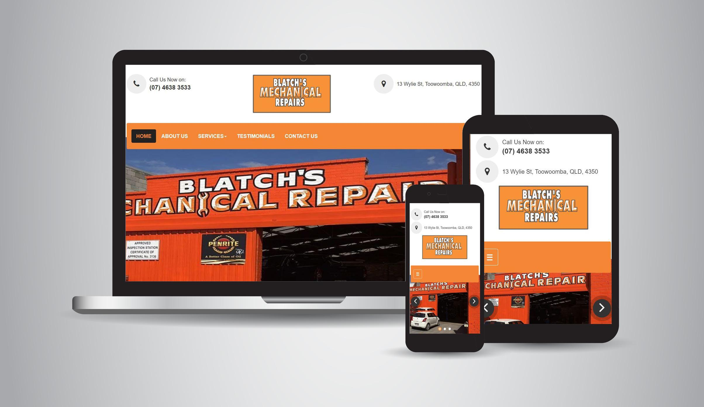 Blatch's Mechanical Repairs - Mechanical, Tyres, Suspension, Truck & 4x4 Accessories