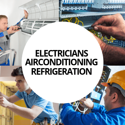 electricians airconditioning refrigeration industry web design portfolio