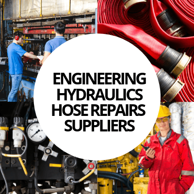 engineering hydraulics hose repairs suppliers industry web design portfolio