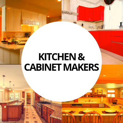 kitchen cabinet makers industry web design portfolio
