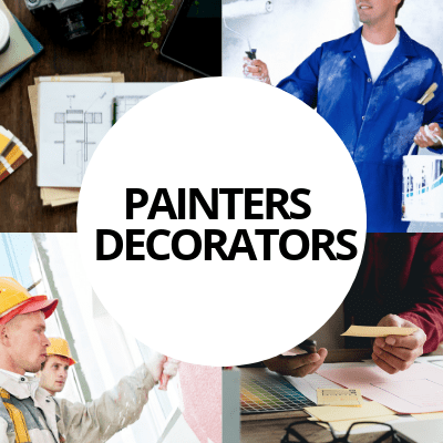 painters decorators industry web design portfolio