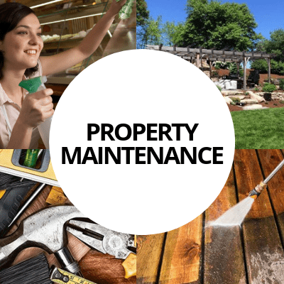 property maintenance industry web design portfolio