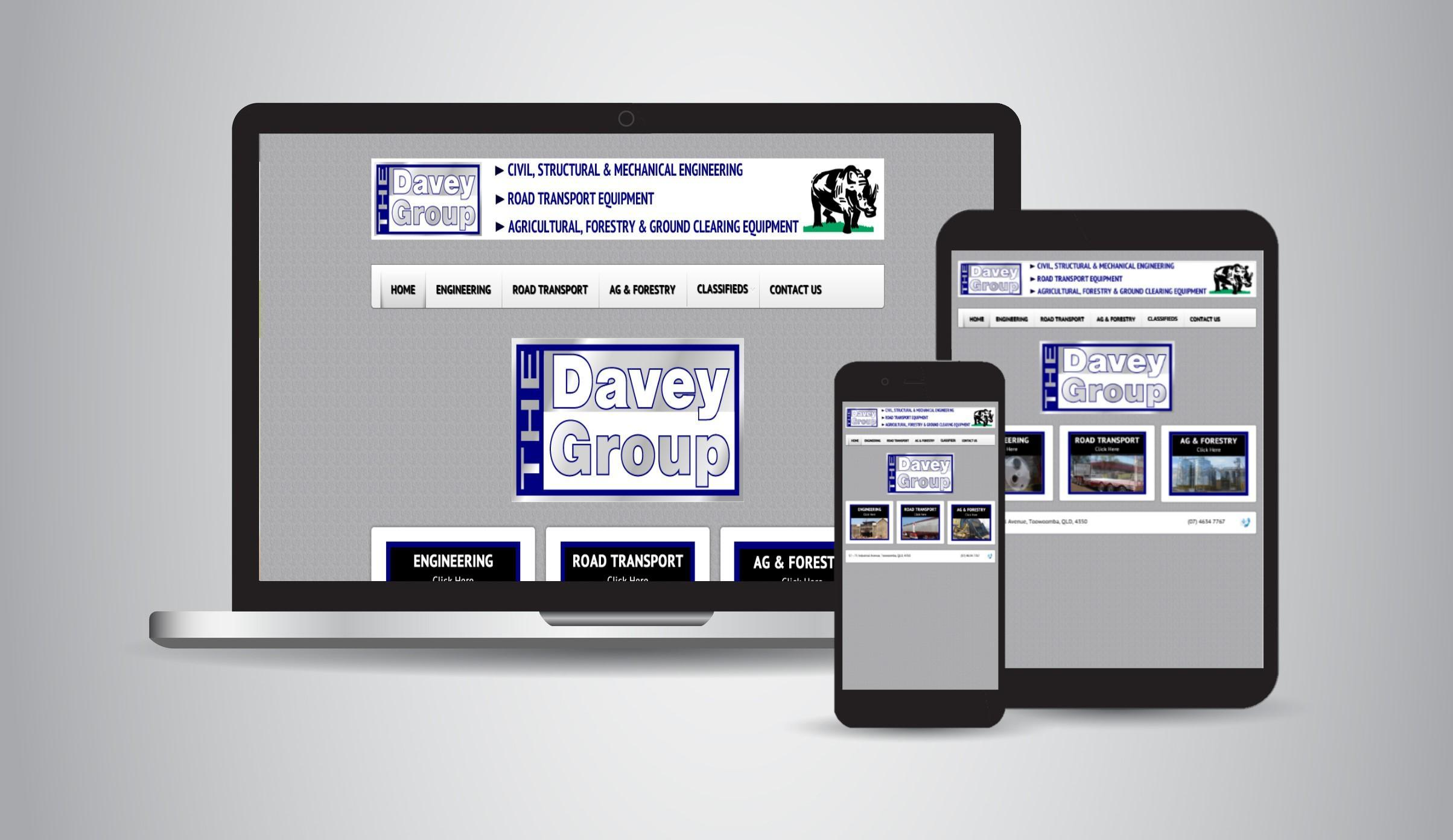 The Davey Group - Engineering, Hydraulics, Hose Repairs & Suppliers