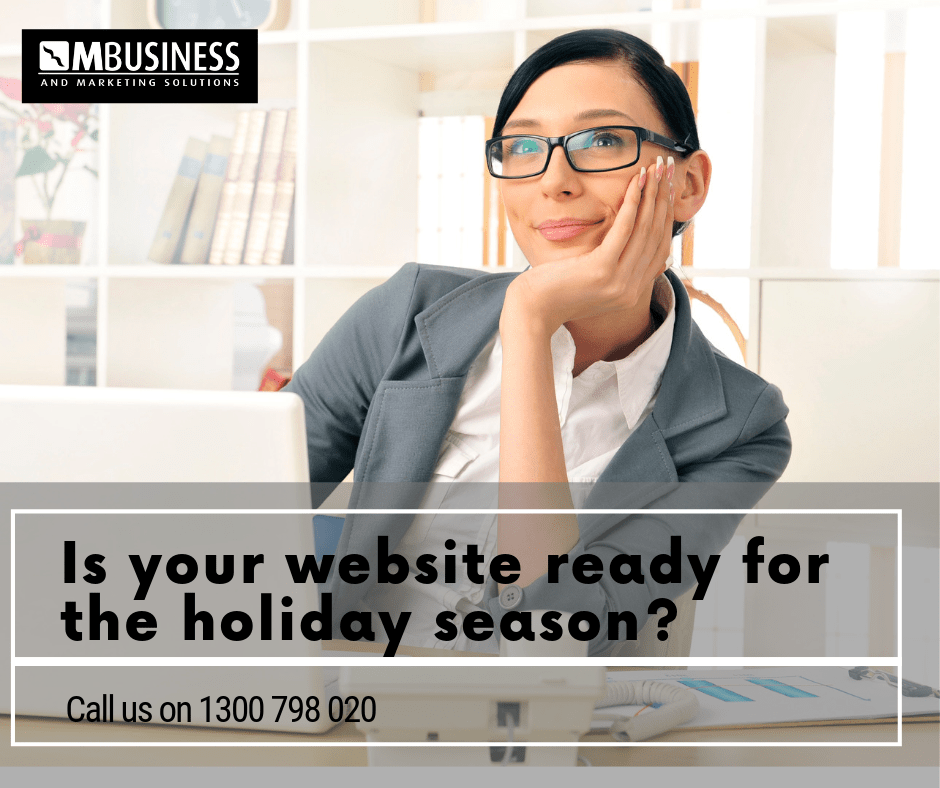 website readiness holiday