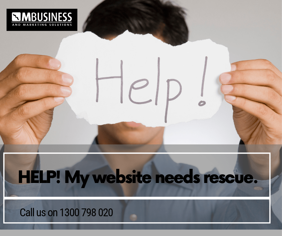 Website rescue toowoomba brisbane