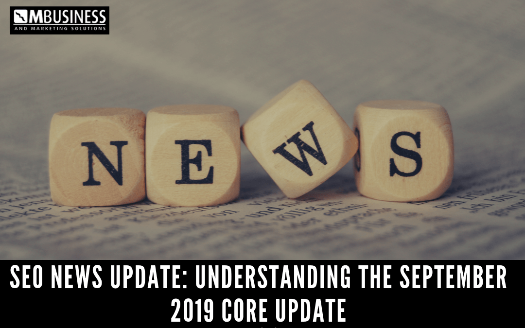 September 2019 Google Core Algorithm Update