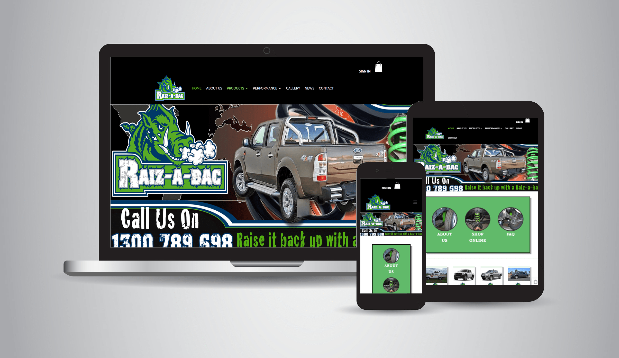 Raiz-a-bac - Mechanical, Tyres, Suspension, Truck & 4x4 Accessories
