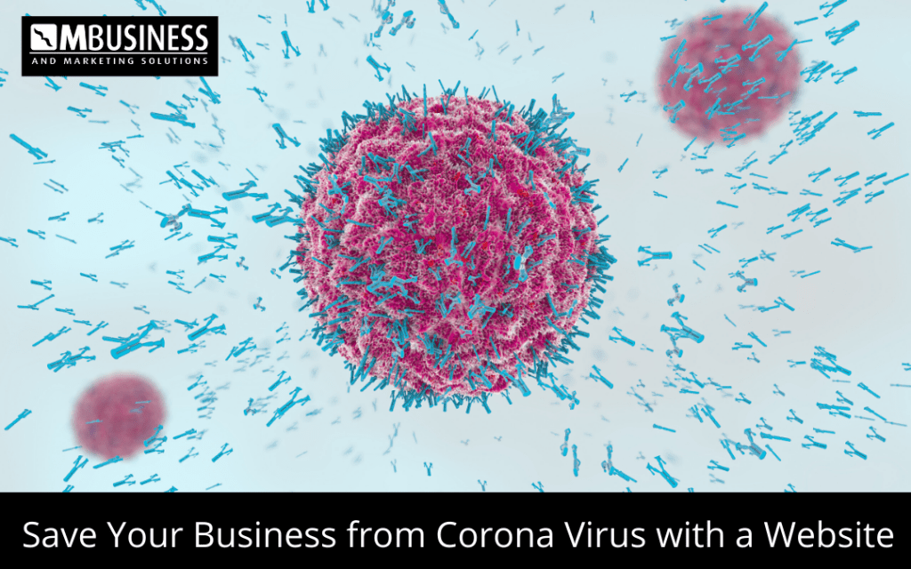 Save Your Business from Corona Virus with a Website