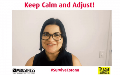 Keep Calm, Adjust and Survive Corona