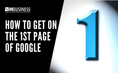 How to Get on the 1st Page of Google
