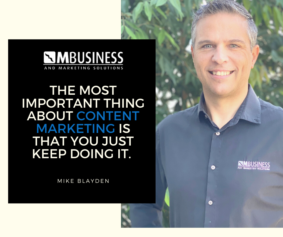 Most important thing about content marketing