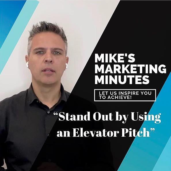 Standout by using elevator pitch - mbusiness solutions